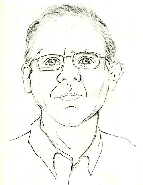 Tom Owens portrait by Diana Helmer