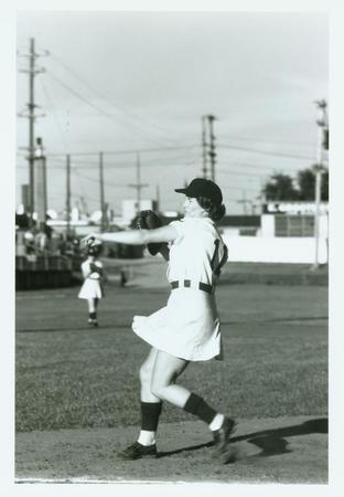 I found this 1947 candid of Voyce, courtesy of the Grand Rapids Public Museum website!