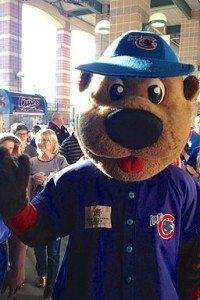Mascot, not to be confused with Randy Wehofer. The latter calls one fine game. By Scott McLeod (Flickr) [CC BY 2.0 (http://creativecommons.org/licenses/by/2.0)], via Wikimedia Commons