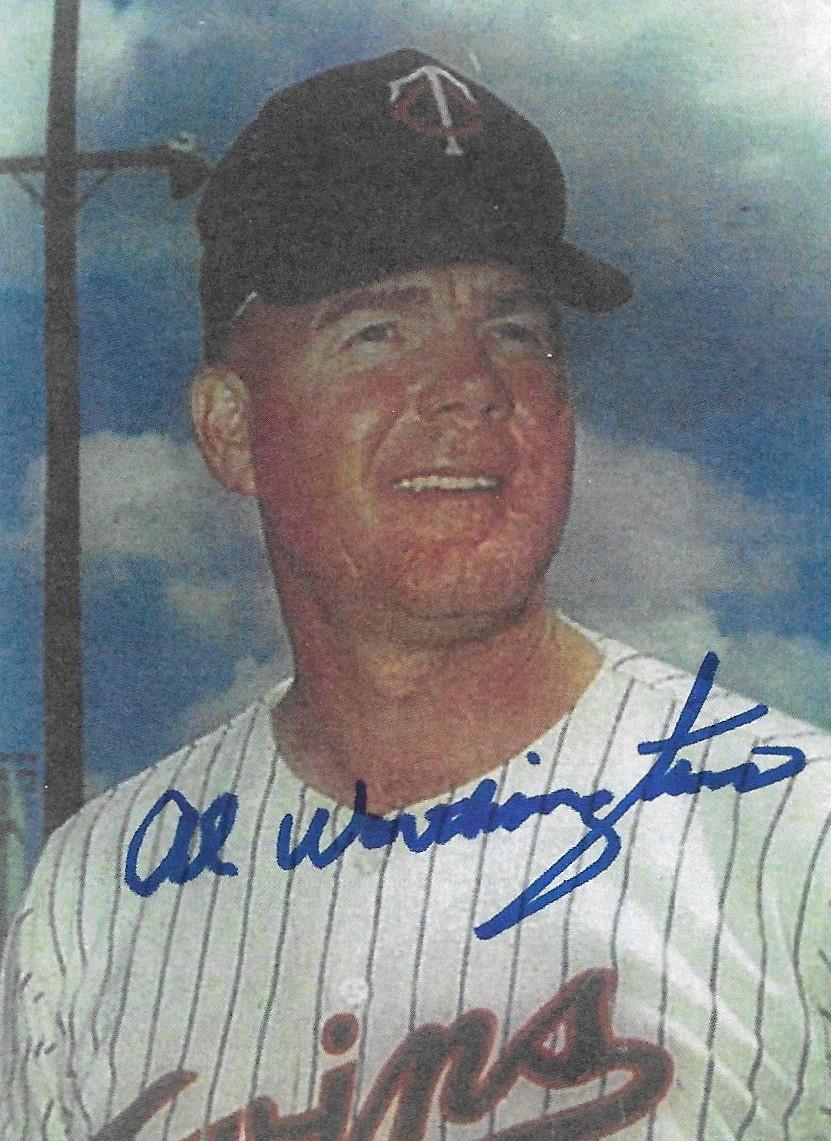Worthington Al autograph
